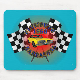 1968 Plymouth Barracuda Mouse Pad. Mouse Pad