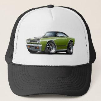 1968 Plymouth GTX Ivy-Black Hood Car Trucker Hat