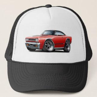1968 Plymouth GTX Red-Black Top Car Trucker Hat