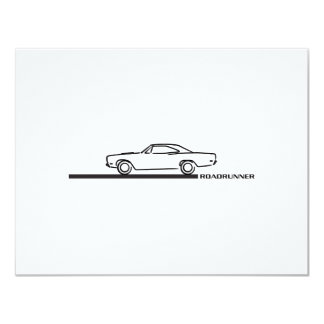 1968 Plymouth Roadrunner Card