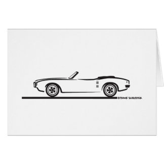 1968 Pontiac Firebird Convertible Card