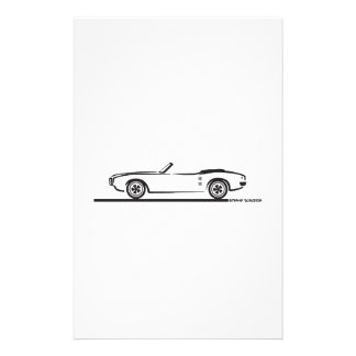 1968 Pontiac Firebird Convertible Stationery