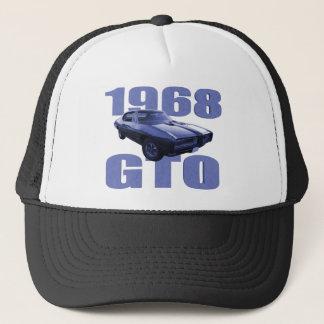 1968 Pontiac GTO Blue Trucker Hat