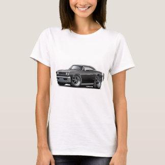 1968 Super Bee Black-Flat Hood Car T-Shirt