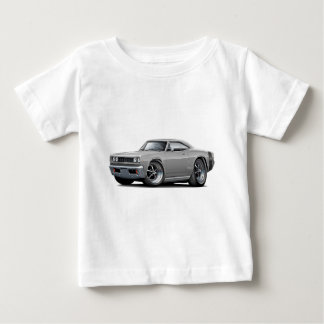 1968 Super Bee Grey-Black Wide Stripe Baby T-Shirt