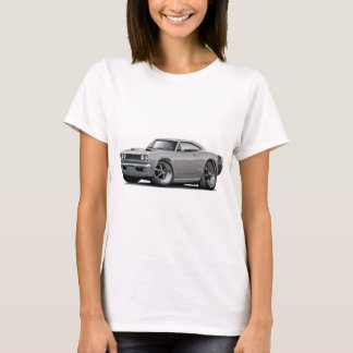 1968 Super Bee Grey-Black Wide Stripe T-Shirt