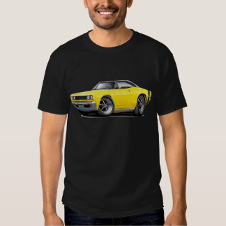 1968 Super Bee Yellow-Black Top Tee Shirt