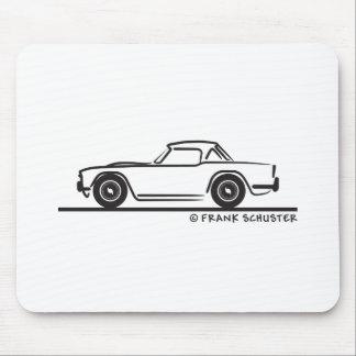 1968 Triumph TR4 Softtop Alfombrillas De Raton