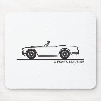 1968 Triumph TR4 Tapetes De Raton