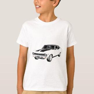 1968 White Muscle Car T-Shirt