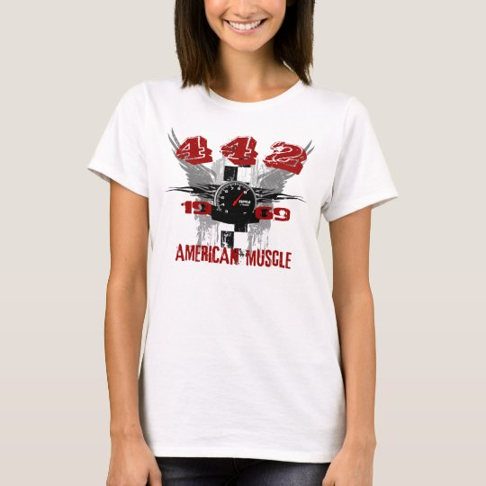 1969 442 Graphic Tee Shirt