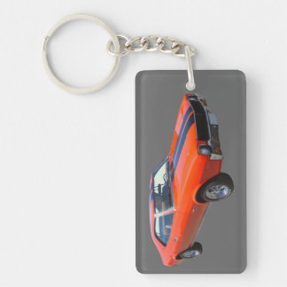 1969 AMC Javlin Muscle Car Keychain