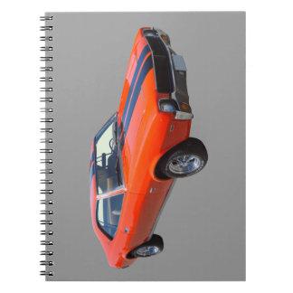 1969 AMC Javlin Muscle Car Spiral Notebook