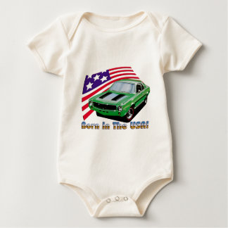 1969 amc  javlin sst baby bodysuit