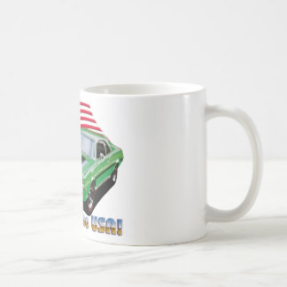 1969 amc  javlin sst classic white coffee mug