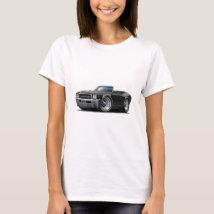 1969 Buick GS Black Convertible T-Shirt