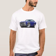 1969 Buick GS Dk Blue-Black Top Car