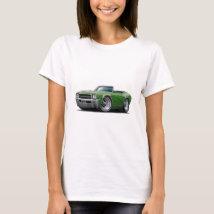 1969 Buick GS Green Convertible T-Shirt
