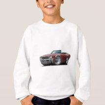 1969 Buick GS Maroon Convertible Sweatshirt