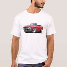 1969 Buick GS Red Convertible T-Shirt