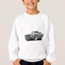 1969 Buick GS Silver Convertible Sweatshirt