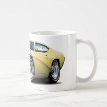 1969 Buick GS Tan Car Coffee Mug