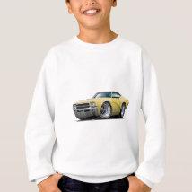 1969 Buick GS Tan Car Sweatshirt