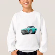 1969 Buick GS Turquoise-Black Top Car