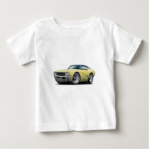 1969 Buick GS Yellow-Black Top Car