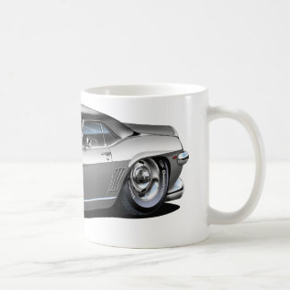 1969 Camaro Grey-Black Car Coffee Mug