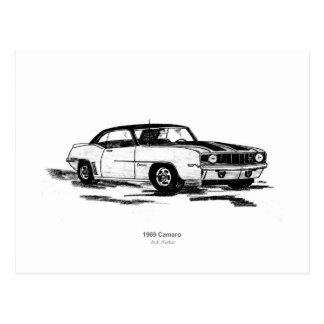 1969 Camaro Postcard
