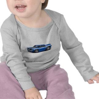 1969 Camaro SS Blue-Black Car T Shirts