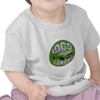 1969 Camaro SS Lime Machine Tee Shirts