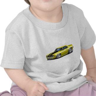1969 Camaro Yellow-Black Car Tshirts