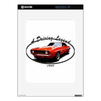 1969_camaro_yenko_orange decal for iPad