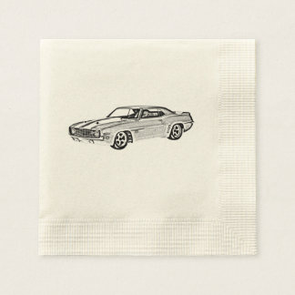 1969 Camaro Z28 Paper Napkin