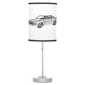 1969 Camaro Z28 Table Lamp