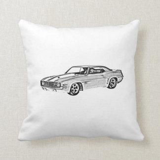 1969 Camaro Z28 Throw Pillow