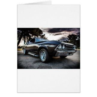 1969 Chevelle Photography Card