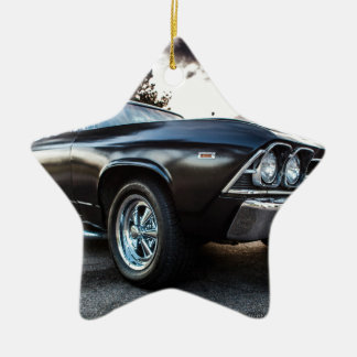 1969 Chevelle Photography Ceramic Ornament