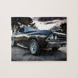 1969 Chevelle Photography Jigsaw Puzzle