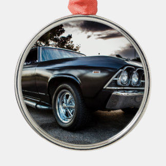 1969 Chevelle Photography Metal Ornament