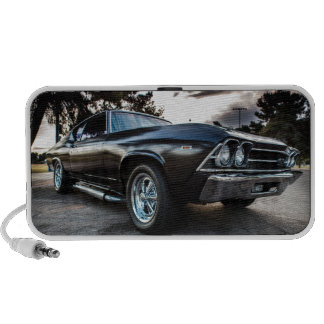 1969 Chevelle Photography Notebook Speakers