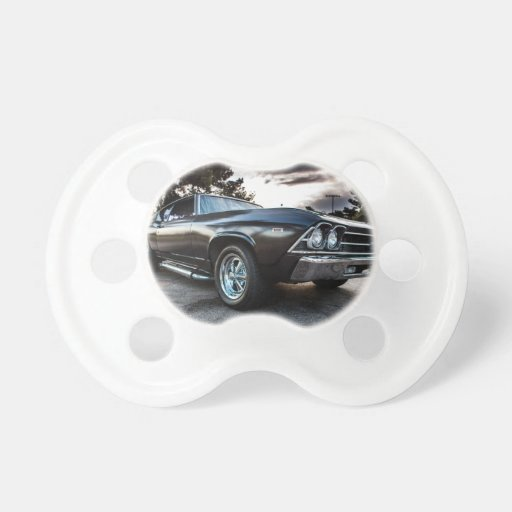 1969 Chevelle Photography Baby Pacifier