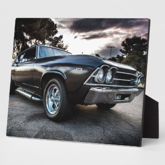 1969 Chevelle Photography Plaque
