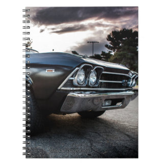1969 Chevelle Photography Spiral Notebook