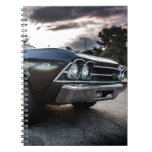 1969 Chevelle Photography Spiral Notebooks