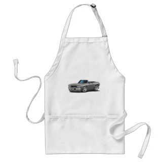 1969 Chevelle Silver Convertible Adult Apron