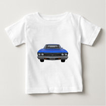 1969 Chevelle SS: Blue Finish Baby T-Shirt