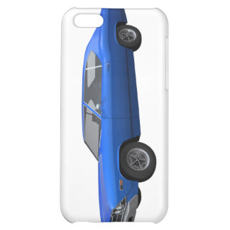 1969 Chevelle SS Blue Finish iPhone 5C Cases